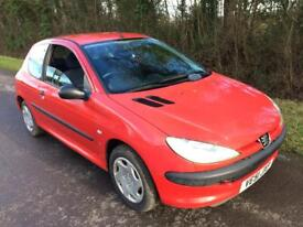 Peugeot 206 1.1 cc cheap to run and insure lovely little car