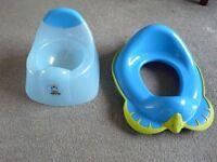 Mothercare Thomas Toilet Training Seat Set