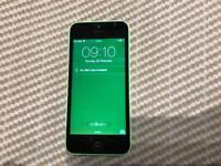 iPhone 5C 16gb UNLOCKED green