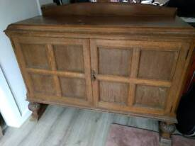 Quality, very heavy, solid sideboard