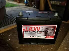 Car batteries for sale