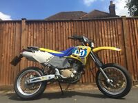 Husqvarna 610 * FACTORY SUPERMOTO * Electric Start * ROAD LEGAL * ONE PREV OWNER * enduro ktm drz