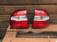 Volvo v40 rear lights