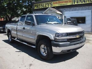 2002 Chevrolet Silverado 2500 LS, 2wd, extended, long box, diese