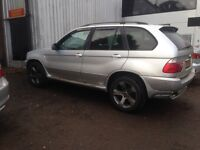 BMW X5. 2003. Gearbox minor slip in 2nd gear. But still drives ok.