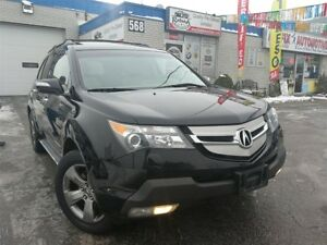 2008 Acura MDX Elite Package_NAVI_DVD_Leather_Sunroof