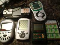 A variety of Hand held games in good condition.