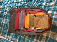 Expedition Bright Primary Fold Dr Bags 7 Sizes. (XXS-XXL)