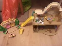 Sylvanian families nursery& playground set