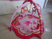Baby play gym - Bright Starts Activity Gym - Pink