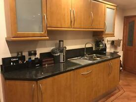 Full Kitchen, granite and appliances