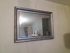 Grey/ Silver Mirror