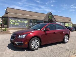 2016 Chevrolet Cruze LT / remote start / back up camera / XM