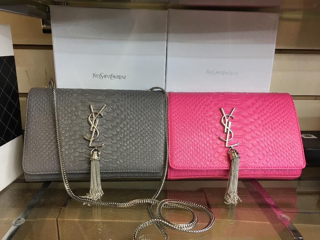 Ysl Kate croc bags