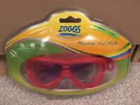 Zoggs swimming goggles (mask) 2-6 years brand new