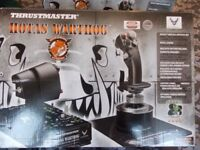 Thrustmaster Hotas Warthog Joystick and Throttle