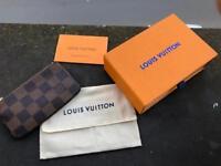 Louis Vuitton Damier Zippy Coin purse key ring