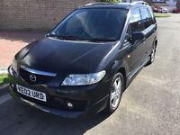 Mazda premacy 2.0 sport 2002 facelift model 5 door mpv people carrier mot February