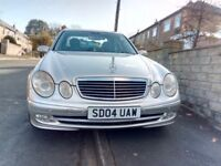 2004 MERCEDES-BENZ 3.2 E320 CDI (silver) in GOOD Driving Condition. BUY and DRIVE.