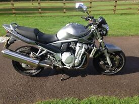 2009 SUZUKI 650 BANDIT GSF 17905 MILES HPI CLEAR