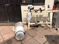 Axminster m900 woodturning lathe