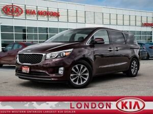 2018 Kia Sedona SX+ - Accident Free, Brakes serviced, Bluetooth