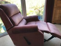 Two Identical Parker Knoll Reclining Chairs