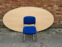 BUNDLE DEAL - Board / Large Meeting Table and Set of 8 Chairs
