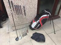 Wilson Golf Clubs Irons, Driver, 3 Wood, Putter & Bag