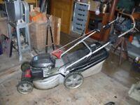 Alko / Honda mower.
