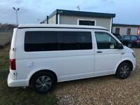 VW transporter T6 camper (66 reg) with brand new professional conversion campervan for sale  Bournemouth, Dorset
