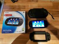 PS Vita with 9 games