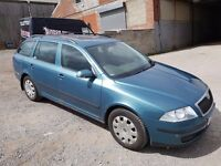 2005 SKODA OCTAVIA 1.9 TDI AMBIENTE 5 DOOR HATCHBACK ESTATE GREEN