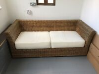 Two seater Ratan Sofa