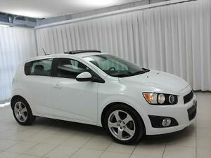 2015 Chevrolet Sonic LT TURBO 5DR  HATCH