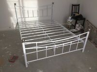 Double bed white (argos darla)
