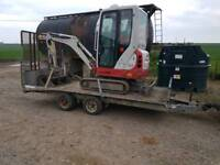 Digger hire, skid steer hire...