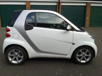 EXCELLENT SMART FORTWO PULSE in WHITE / SILVER