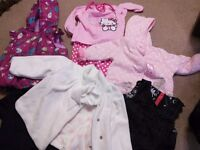 Baby girl clothes 9-12mths 1 box