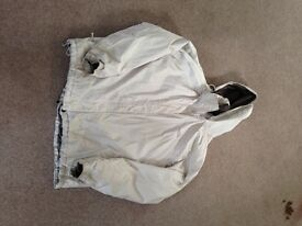 ladies north face jacket - cream xxl