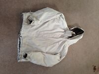 ladies north face jacket - cream xxl