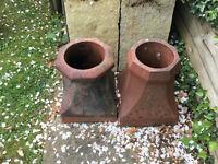 Chimney Pots Octagonal Terracotta