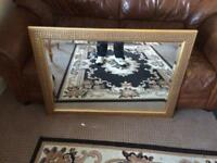 Large mirror perfect for living room or large bedroom