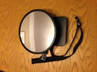 Baby safety mirror for car