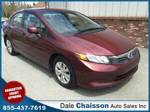 2012 Honda Civic LX  *Automatic*-