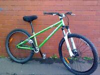 Btwin Subsin Professional Jump Bike - Hydraulic disc brakes........