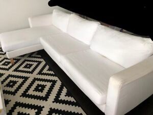 Comfortable Fabric Sectional Sofa