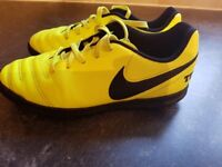 Child's Nike Tiempox Artificial Surface Football Boots Size 1
