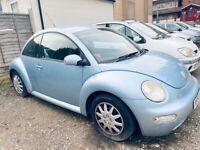 Volkswagen, BEETLE, Hatchback, 2004, Manual, 1596 (cc), 3 doors