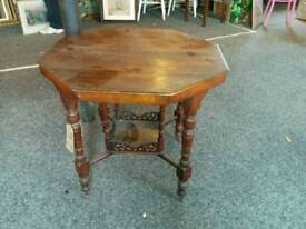 Antique occasional gate leg table
